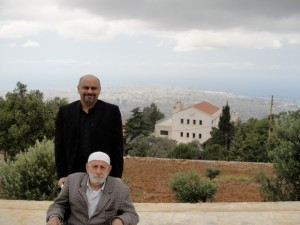 One of the last days I spent with Hajj Ali in 2010 at a monastery that overlooks Beirut, in nLebannon