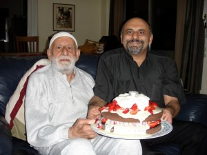 Hajj Ali celebrating my 50th birthday in 2010