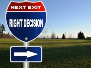 right-decision-road-sign