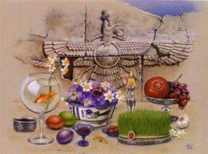 Norooz-postcard